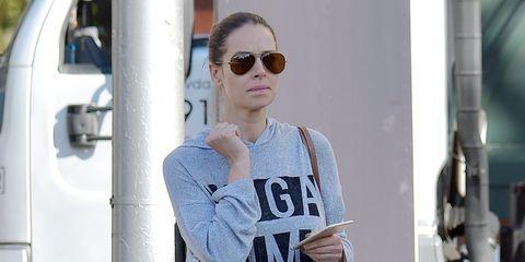Eyewear, Clothing, White, Shoulder, Sunglasses, Street fashion, Sportswear, Fashion, Outerwear, T-shirt,