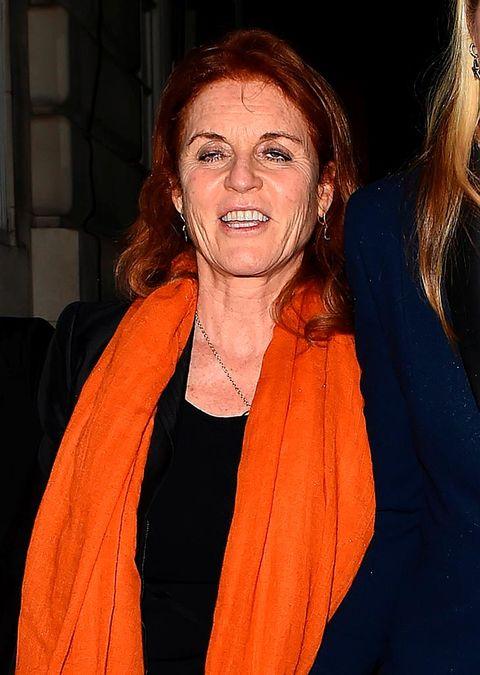 Orange, Smile, Long hair,