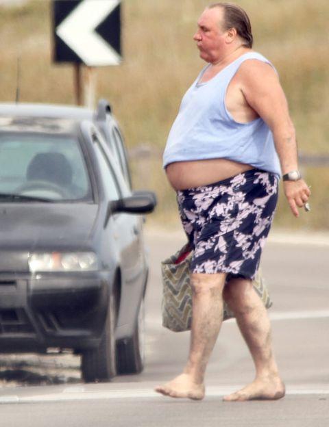 Gérard Depardieu, un verano redondo