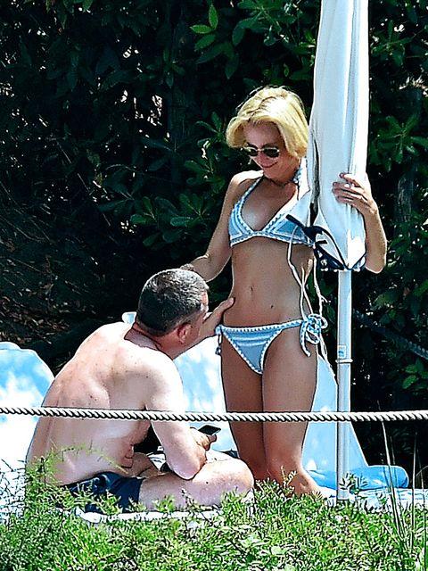 Bikini, Undergarment, Swimwear, Navel, Lingerie,