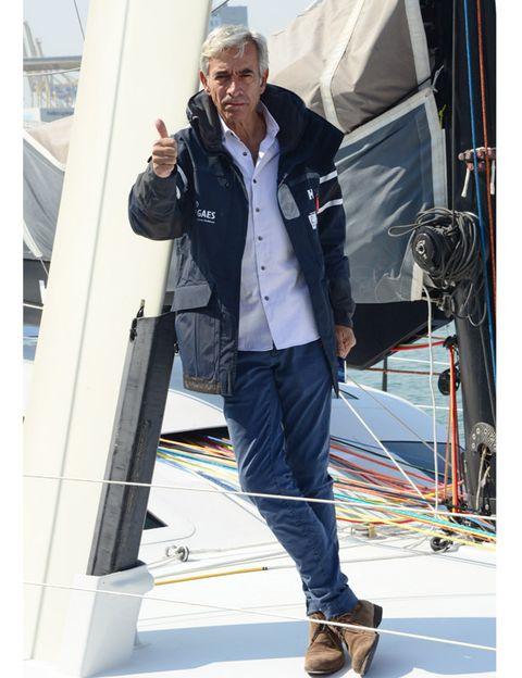 Jacket, Textile, Shoe, Outerwear, Denim, Street fashion, Rope, Boat, Tent, Tarpaulin,