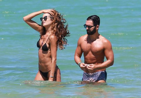 Eyewear, Fun, Goggles, Water, Chest, Barechested, Brassiere, Summer, People in nature, Sunglasses,