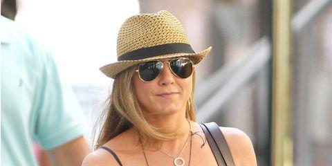 Clothing, Eyewear, Glasses, Sunglasses, Dress, Hat, Fashion accessory, Jewellery, Necklace, Sun hat,