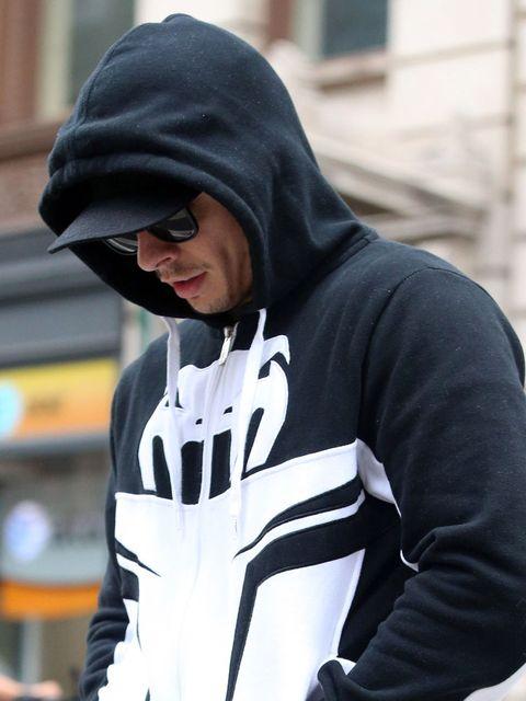 Eyewear, Glasses, Vision care, Sleeve, Outerwear, Sunglasses, Jersey, Hoodie, Street fashion, Winter,