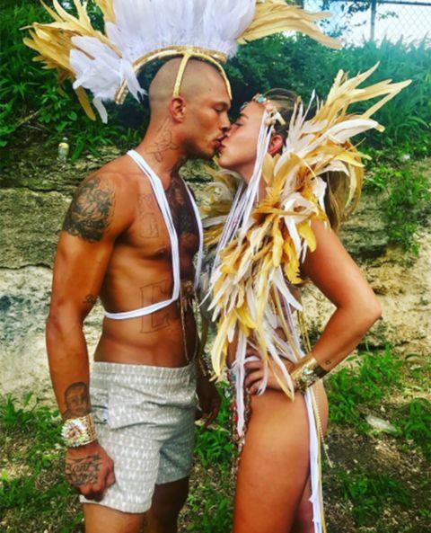 Tribe, Barechested, Festival, Abdomen,