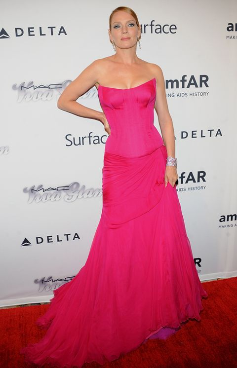Clothing, Arm, Human, Dress, Shoulder, Joint, Red, Waist, Formal wear, Pink,