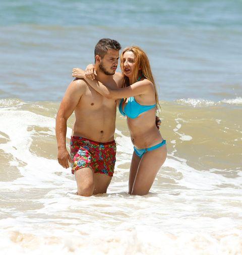 Clothing, Fun, Brassiere, People on beach, Swimwear, Photograph, Bikini, Swimsuit top, Summer, Undergarment,