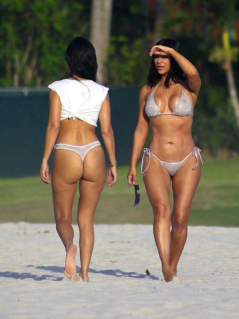 Bikini, Undergarment, Clothing, Swimwear, Leg, Lingerie, Human leg, Thigh, Vacation, Fashion,