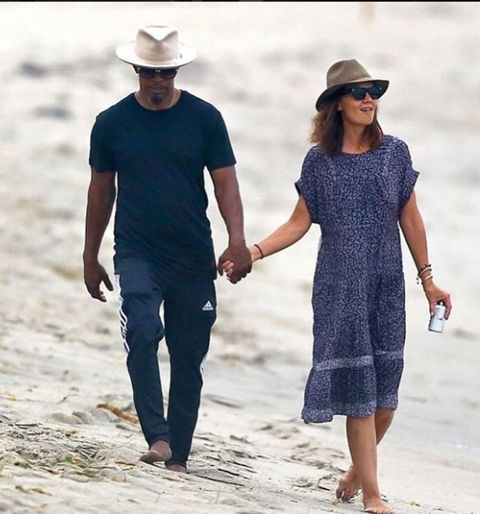 Clothing, Dress, Hat, Vacation, Sun hat, Fashion, Walking, Summer, Interaction, Holding hands,