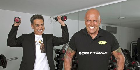 Smile, Logo, Muscle, Physical fitness, Chest, Training, Glove, Indoor cycling, Wetsuit, Dry suit,