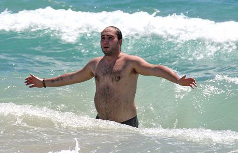 Fun, Water, Leisure, People in nature, Barechested, Summer, Chest, Muscle, Holiday, Wave,
