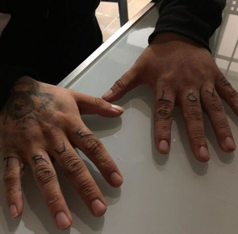 Nail, Finger, Hand, Joint, Manicure, Material property, Thumb, Nail care, Flesh, Gesture,