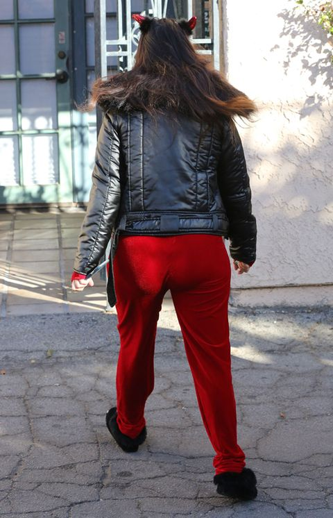 Clothing, Jacket, Sleeve, Shoe, Trousers, Textile, Red, Outerwear, Denim, Style,
