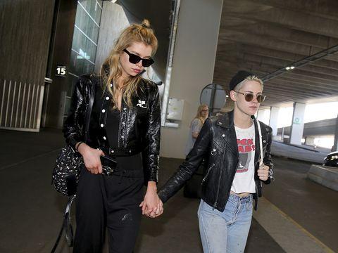 Leather, Leather jacket, Jacket, Clothing, Eyewear, Fashion, Textile, Street fashion, Sunglasses, Outerwear,