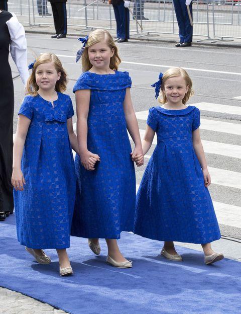 Clothing, Blue, People, Trousers, Dress, Standing, Electric blue, One-piece garment, Denim, Cobalt blue,