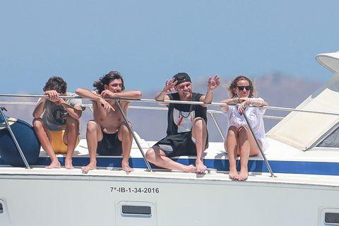 Luxury yacht, Yacht, Vacation, Water transportation, Boat, Vehicle, Boating, Fun, Bikini, Summer,