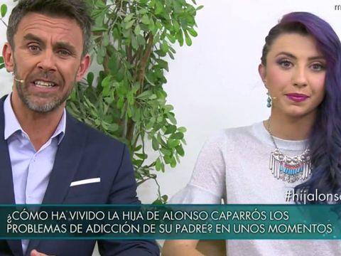 La hija de Alonso Caparrós: ''No tengo nada que perdonarte''