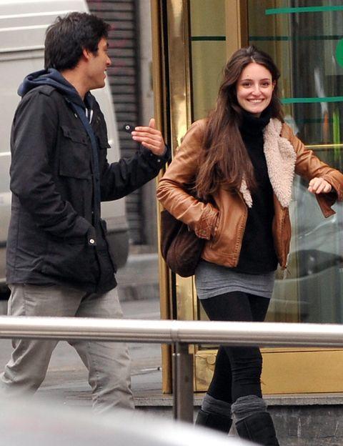 Clothing, Leg, Trousers, Jacket, Textile, Outerwear, Style, Street fashion, Winter, Fashion,