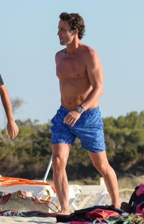 Barechested, board short, Muscle, Summer, Vacation, Beach, Fun, Shorts, Barefoot, Trunks,