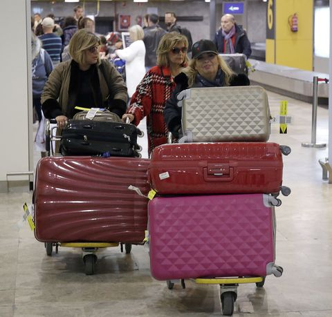Baggage, Hand luggage, Luggage and bags, Suitcase, Travel, Bag, Fashion accessory, Vehicle,