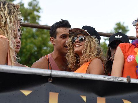 Eyewear, Sunglasses, Fun, Summer, Festival, Public event, Event, Vacation, Muscle, Leisure,