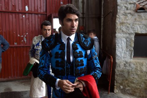 Fashion, Jacket, Street fashion, Electric blue, Tradition, Uniform, Formal wear, Top, Style,