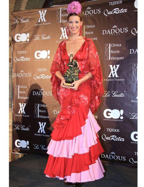Pink, Dress, Flooring, Fashion accessory, Fashion, Eyelash, One-piece garment, Carpet, Model, Gown,