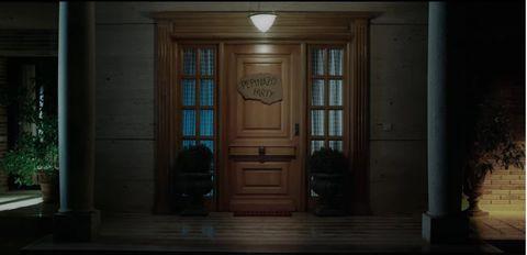 Door, Light, Room, Wood, Darkness, House, Atmosphere, Architecture, Hardwood, Home door,
