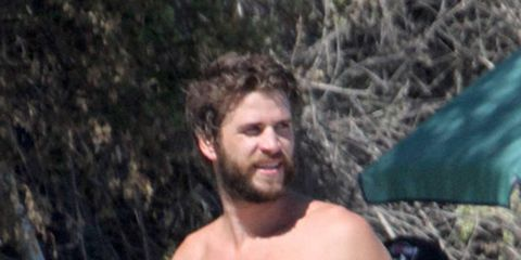 Human, Hairstyle, Chest, Barechested, Beard, Trunk, Facial hair, People in nature, Muscle, Neck,
