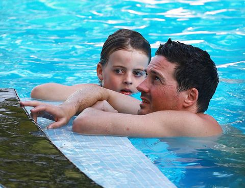 Ear, Nose, Fluid, Blue, Fun, Swimming pool, Recreation, Water, Leisure, Liquid,