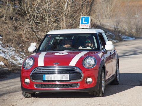 Automotive design, Vehicle, Grille, Car, Mini cooper, Vehicle door, Mini, Hatchback, Alloy wheel, City car,