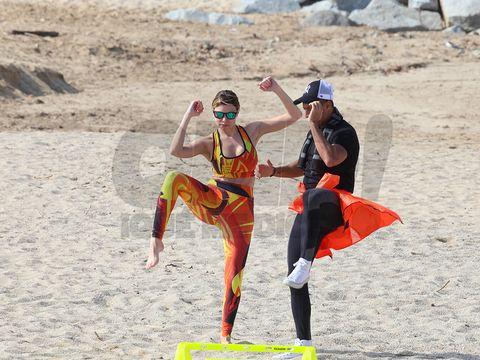 Sand, Hat, Active pants, Sunglasses, Spandex, sweatpant,