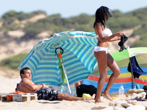Leg, Fun, Human body, Leisure, Summer, Tourism, Sun tanning, People in nature, Vacation, Brassiere,