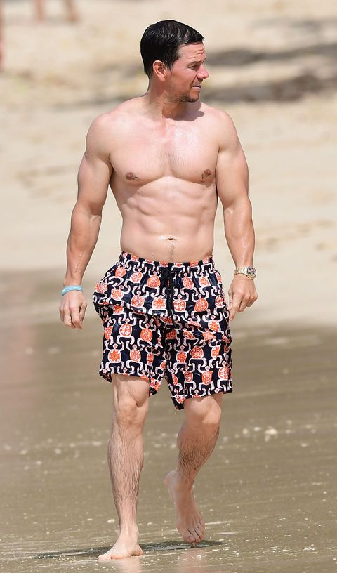Barechested, Muscle, Chest, board short, Trunks, Beach, Vacation, Abdomen, Shorts, Trunk,