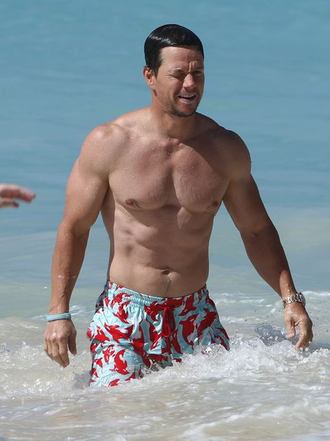 Fun, board short, Barechested, Summer, People in nature, Muscle, Chest, Shorts, Trunks, People on beach,
