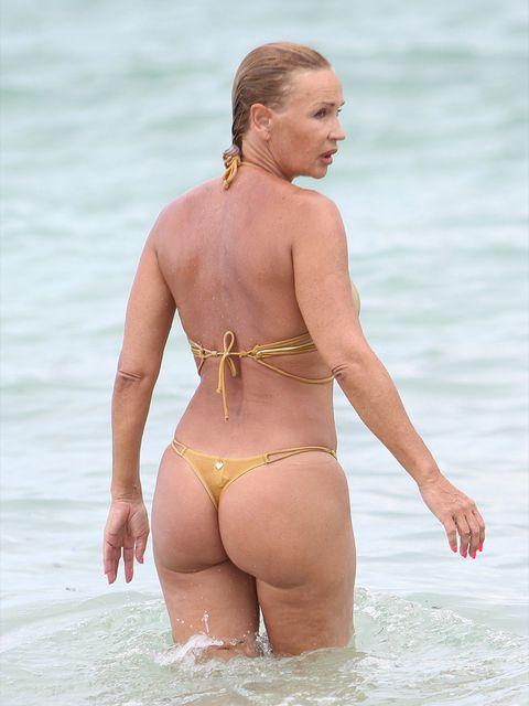 Undergarment, Clothing, Bikini, Swimwear, Vacation, Beach, Fun, Blond, Summer, Stomach,