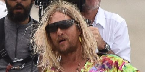 Hair, Facial hair, Beard, Human, Moustache, Eyewear, Long hair, Hippie, Sunglasses,