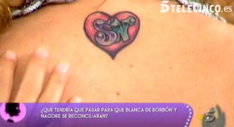 Skin, Purple, Violet, Font, Organ, Muscle, Tattoo, Lavender, Abdomen, Body jewelry,