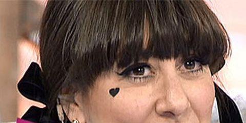 Hair, Nose, Lip, Mouth, Cheek, Hairstyle, Chin, Forehead, Eyebrow, Bangs,