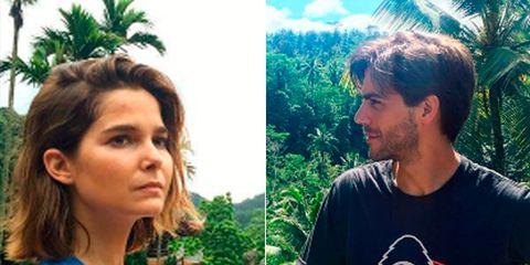 People in nature, Arecales, Tropics, Palm tree, Abdomen,