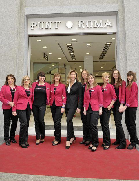 Footwear, Social group, Team, Crew, Suit trousers, Active pants, Pantsuit, Carpet,