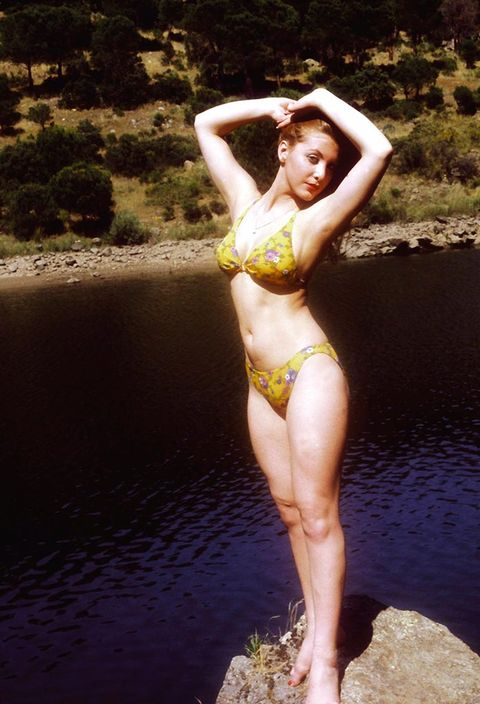 Nature, Brassiere, Skin, Swimwear, Human leg, Swimsuit top, Bikini, Summer, Swimsuit bottom, People in nature,