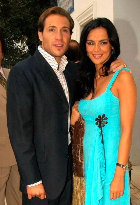 Formal wear, Suit, Turquoise, Event, Tuxedo, Fashion design,
