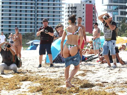 Fun, Spring break, Summer, Vacation, Beach, Tourism, Bikini, Sand, Crowd,