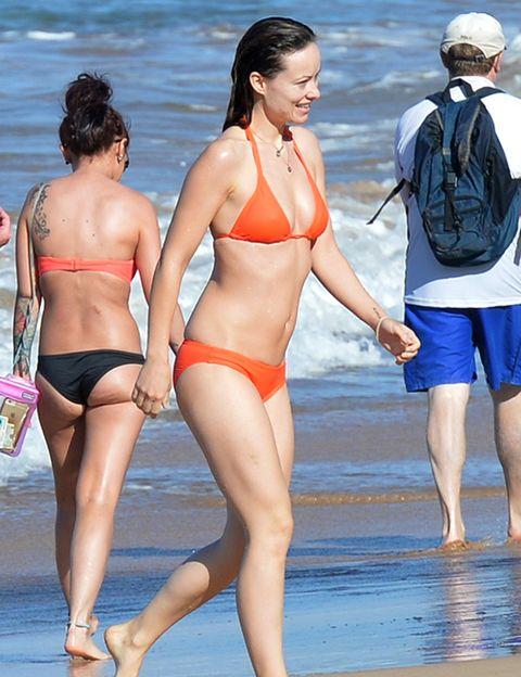 Leg, Brassiere, Fun, Human leg, People on beach, Summer, Bikini, Swimsuit top, Undergarment, Thigh,
