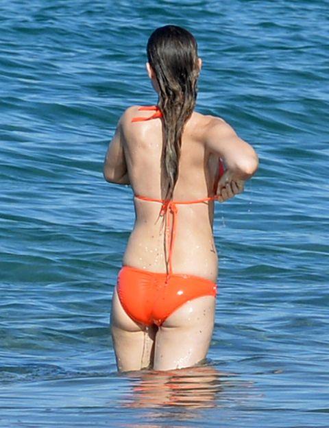 Shoulder, Joint, Human leg, Elbow, Back, Summer, Swimsuit bottom, Undergarment, Swimwear, Bikini,