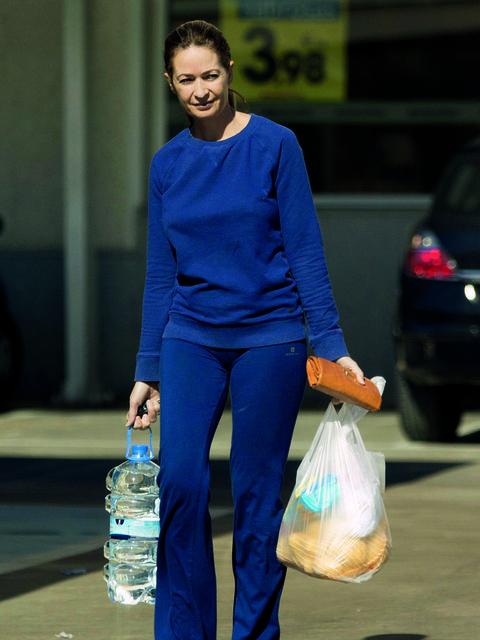 Blue, Water bottle, Plastic bottle, Bag, Drinkware, Drinking water, Bottle, Bottled water, Jewellery, Denim,