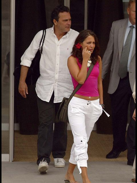 White, Jeans, Fashion, Pink, Leg, Event, Outerwear, Trousers, Blazer, Footwear,