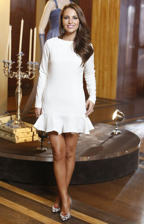 Leg, Hairstyle, Sleeve, Human leg, Candle holder, Shoulder, Dress, Formal wear, Candle, Beauty,