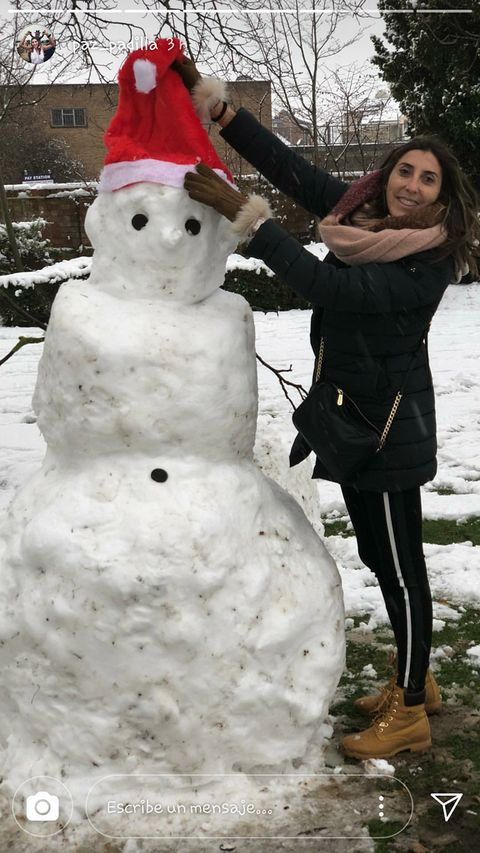 Snowman, Snow, Winter, Freezing, Playing in the snow, Smile,